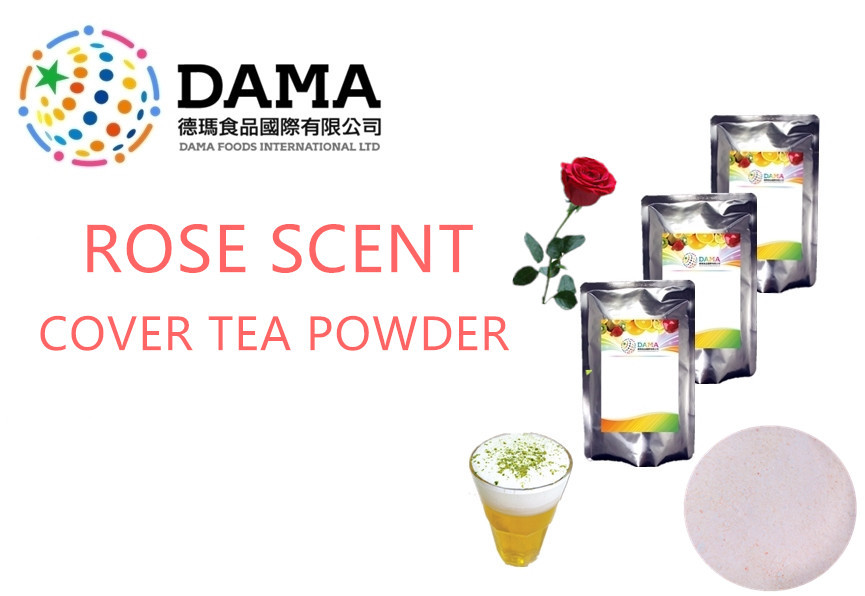 Rose Scent Cover Tea Powder