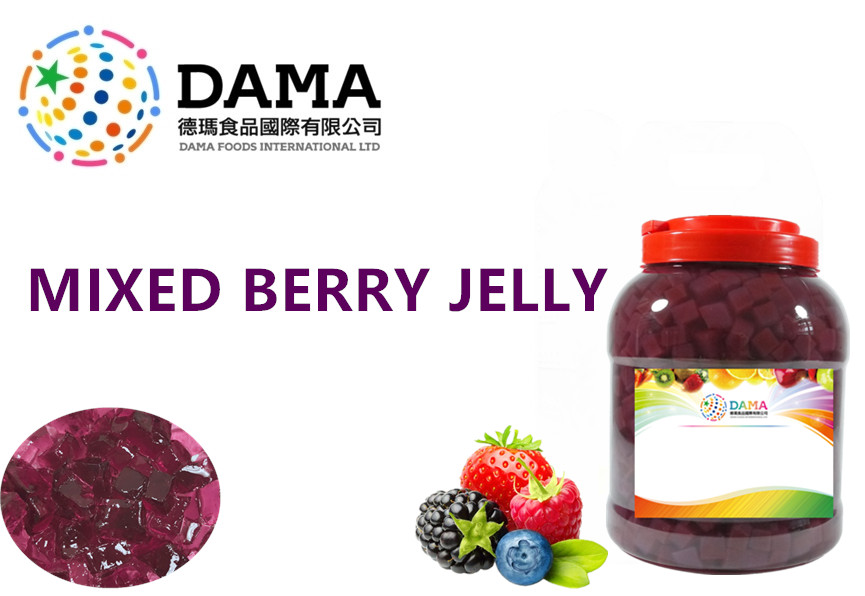 Mixed berry jelly