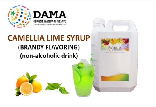 Camellia Lime Syrup